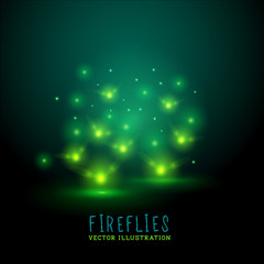 Glowing Flireflies