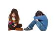 Sad children