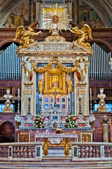 Altar of the St. Mary of the Altar of Heaven Basilica