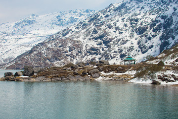 Tsangmo Lake in Sikkim India