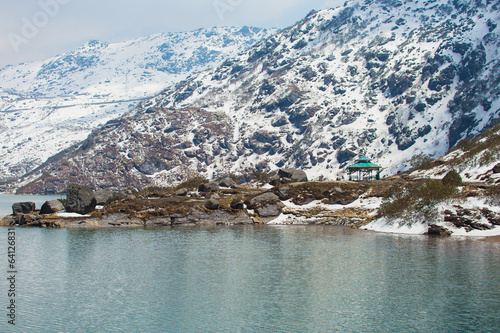 Tsangmo Lake in Sikkim India