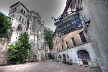 chambéry - place du château