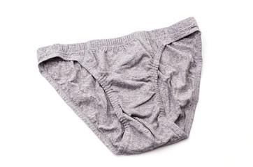 Underwear isolated white background