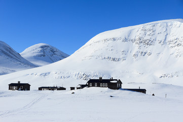 Tarfalastugan, mountain hut, @ Kungsleden