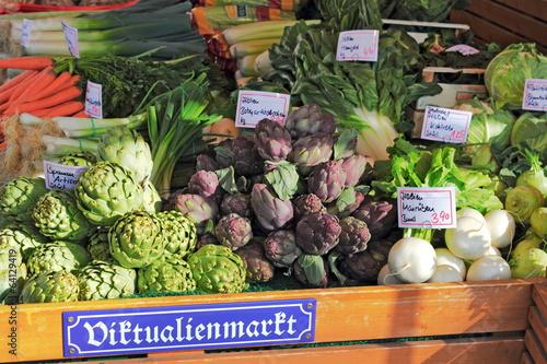 München Viktualienmarkt - 64129419