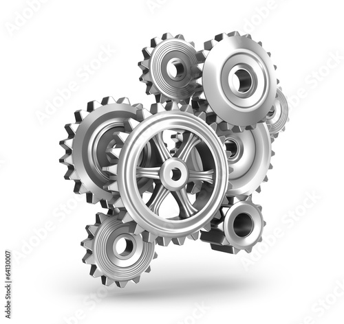 Steel gear wheels concept