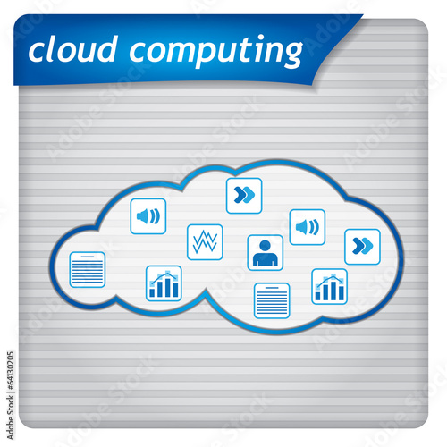 Presentation template - cloud computing