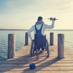 Training im Rollstuhl