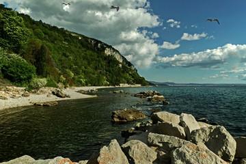 Trieste (Italia) la costa