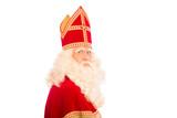 Sinterklaas white background