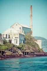 Alcatraz Island in San Francisco, USA