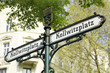 Leinwandbild Motiv Berlin, Kollwitzplatz