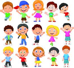 happy kid cartoon collection