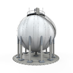 Gas Storage Refinery