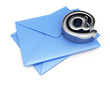 Envelopes and email symbol
