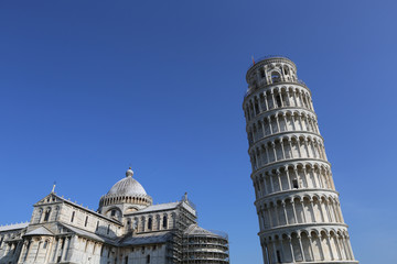 Architecture of Italy. Pisa - city of World Heritage