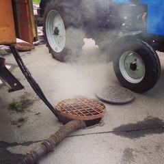 repairing underground drainage pipes