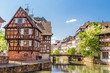 House tanners, Petite France district. Strasbourg, France - 64136090
