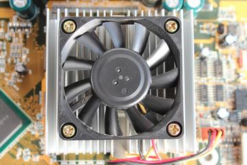 プリント基板 CPU冷却ファン