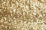 Golden sequins - sparkling sequined textile
