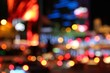 Las Vegas night - defocused city lights - 64140623