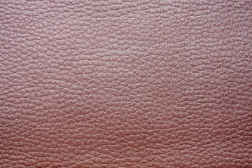 glossy skin and imitation leather of pink color
