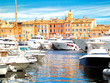 Yacht Harbor of St.Tropez, France - 64142605