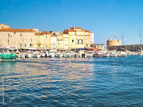 Harbor of St.Tropez, France