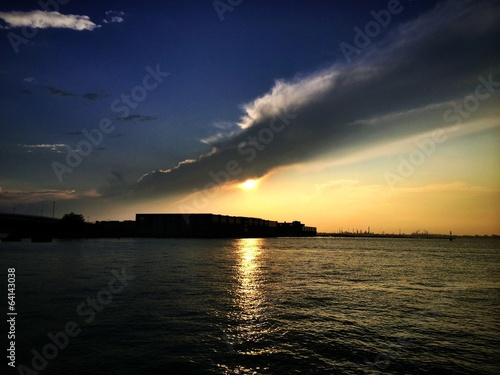 Venice, sunset view