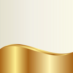 gold and beige background with linear textured