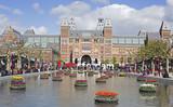 Fototapety amsterdam landmark