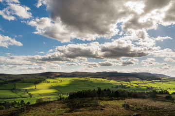 Simonside Hills from Rothbury Terraces
