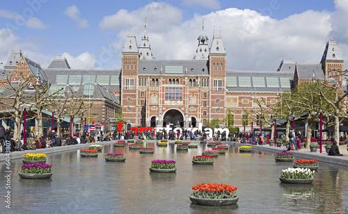 Fotobehang Amsterdam amsterdam landmark