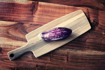 aubergine chopping board