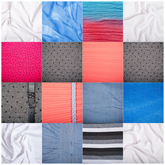 Set textile backgrounds