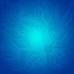 Blueprint technological vector background