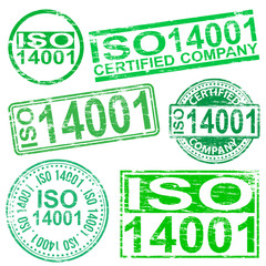 ISO 14001 Stamps