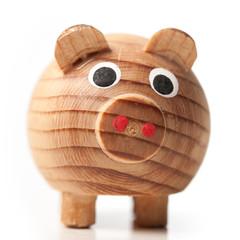 Holzfigur, Schwein