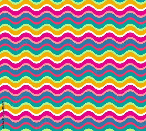 vector seamless abstract pattern waves