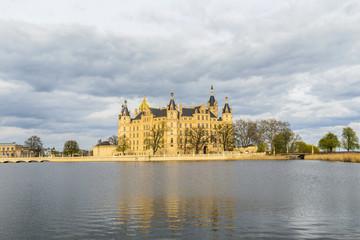 famous schwerin castle , Germany