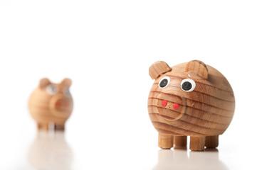 Schweine - Pärchen