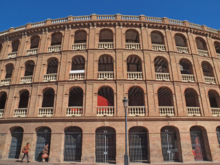 Plaza de Toros in Valencia, Spain.