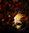 Leinwanddruck Bild - Venetian Mask