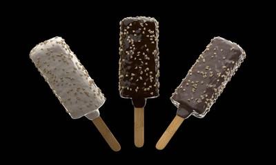 Glaces aux trois chocolats