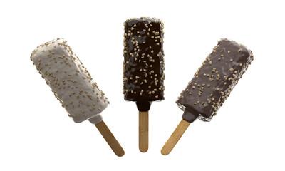 Glaces aux trois chocolat