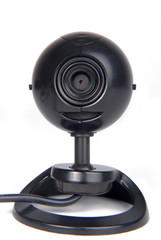 web computer camera isolated on white