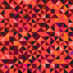 Seamless triangle pattern background. Vector