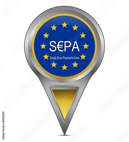 Pin Pointer mit SEPA - Single Euro Payments Area