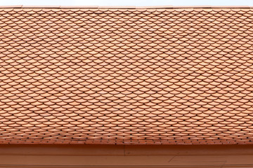 Roof terracotta tier