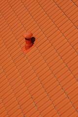 roof tile orange backgrounds